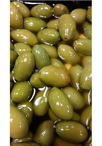 groene olijf met pit